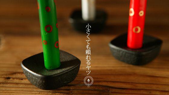 こま燭台(豆、1号サイズ用)|高澤ろうそく店【能登スタイルストア】