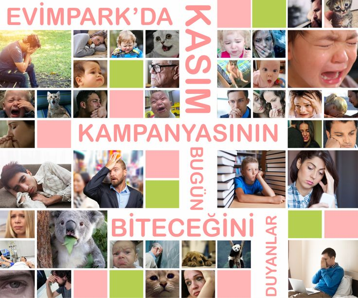 EVİMPARK'DA KASIM KAMPANYASININ BUGÜN BİTECEĞİNİ DUYANLAR! http://evimpark.com.tr/