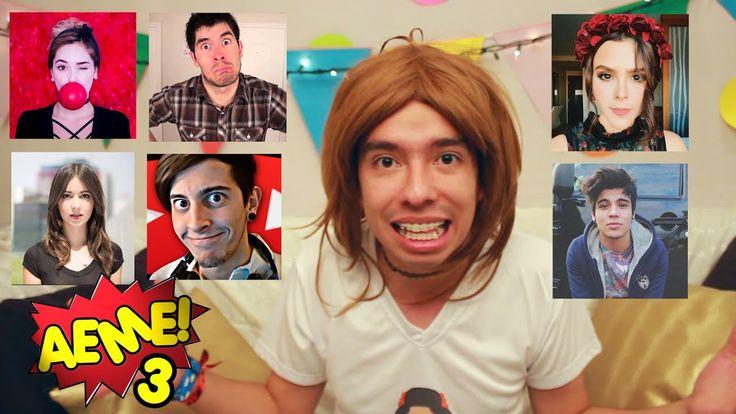 AEME! - Capitulo 26 - Imitando Youtubers (HolaSoyGerman, Kika Nieto, Yuya, Caeli, Roblesiutu, Sebas) - VER VÍDEO -> http://quehubocolombia.com/aeme-capitulo-26-imitando-youtubers-holasoygerman-kika-nieto-yuya-caeli-roblesiutu-sebas    ANTERIOR VIDEO IMITANDO YOUTUBERS:  Envíen su vídeo con su talento supernatural al correo: aemeshow@gmail.com ¡¡Síguenos Terrícola!! AMARA Canal de Amara: Facebook: Twitter: Instagram: Snapchat: amaraquelinda AMI Canal de Vlogs: Canal: