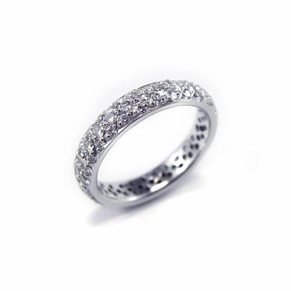 Classic Pave style Ladies wedder. #Pave #Diamond #Wedding #Rings #Sydney