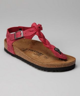 Take a look at this Rosewine Kairo Sandal by Tatami on today!- wayyy to  expensive for me who ruins shoes