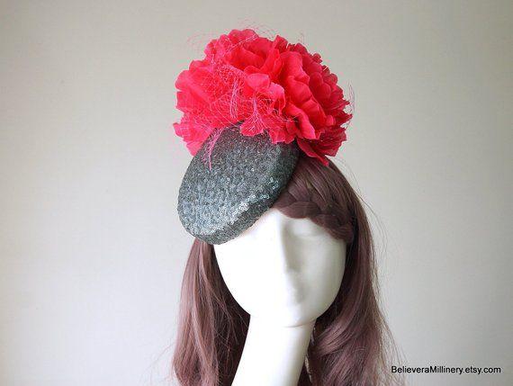 Ascot Melbourne Cup Spring Autumn Race Racing Carnival Hat Headband Fascinator