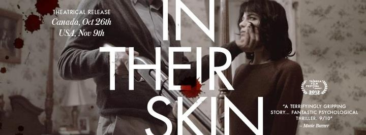 In Their Skin opens in Toronto (Bloor Hot Docs Cinema and The Royal) and Vancouver (Granville 7 and Millenium Place at the Whistler Film Festival) on Oct. 26, 2012  http://thelabmagazine.com/films/