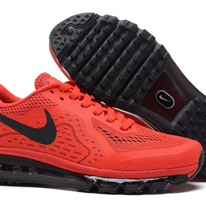 Nike Air Max 2014..Men Shoes...red with black from Big Country Sports And Outdoors for $155.99 on Square Market