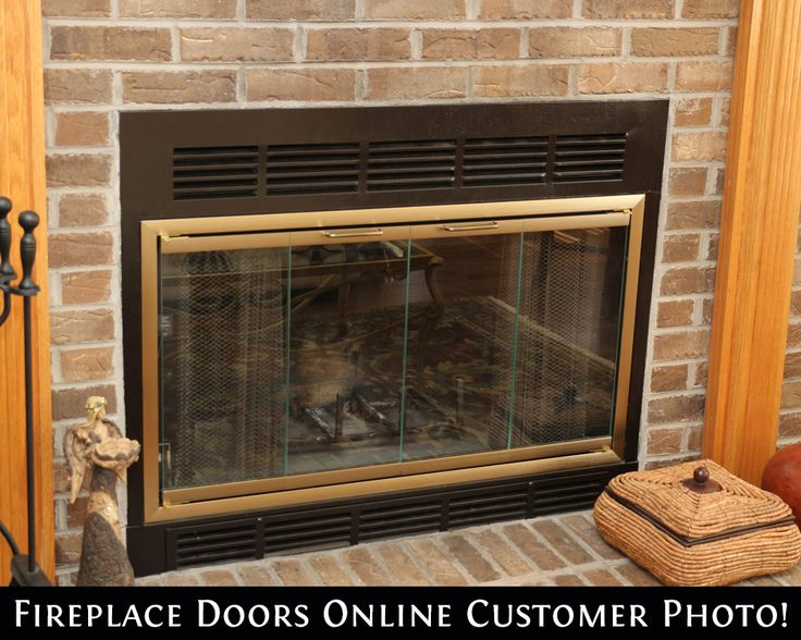 Belmont Antique Brass Zero Clearance Fireplace Door - Top 28 Ideas About Bestselling Fireplace Doors On Pinterest