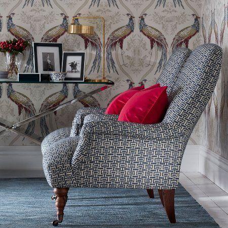 Lakástextil - függöny és bútorszövet | Wedgwood Home by Blendworth | Intaglio Weave textil