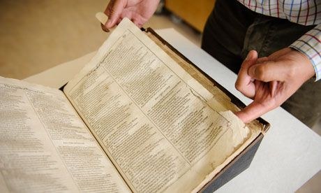 Bodleian's battered Shakespeare First Folio to be put on internet. University library starts appeal fund to digitise carefully conserved volume still wrapped in original 1623 binding