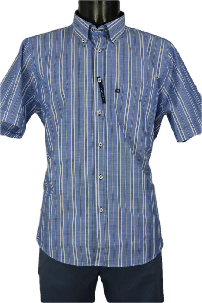 Camicia Cotone Uomo Manica Corta Blusalina mod. Cremona