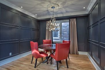 Home Contemporary Dining Rooms And Benjamin Moore On
