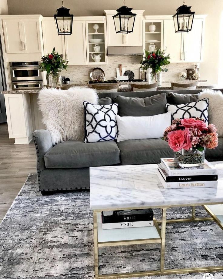 30 Stylish Gray Living Room Ideas To Inspire You Farmhouse Living Room Furniture Farm House Living Room Couches Living Room