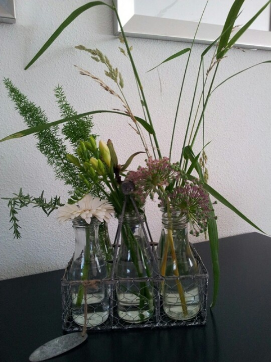 Vlotte 'schikking' Flower arrangement