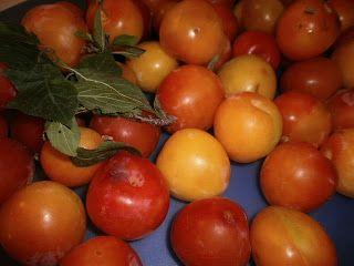 LE  RICETTE DI CHARA: Marmellata  di susine rosse, banane e mele (Μαρμελ...
