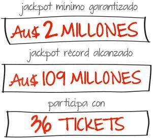 Juegue en Mega Millions por un mes y obtenga 3 Tickets Grátis