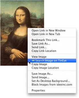 Reverse image search  http://www.tineye.com/
