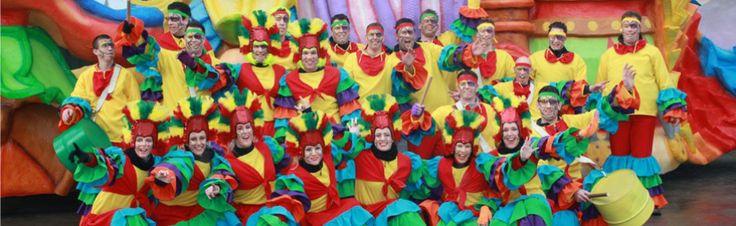 Loopgroep Doe Mar Dillies Oijen in 2012 - Carnaval in Rio aan de Maas.