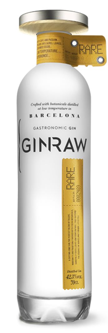 gin raw packaging.