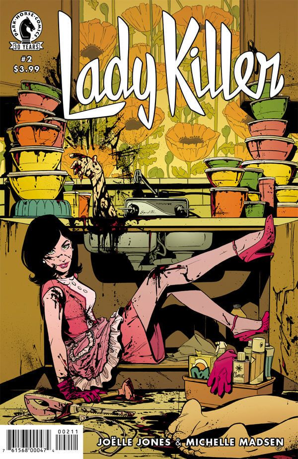 Preview: Lady Killer 2 #2, Lady Killer 2 #2  Story: Joelle Jones Art: Joelle Jones Cover: Joelle Jones Publisher: Dark Horse Publication Date: September 14th, 2016  Pric...,  #All-Comic #All-ComicPreviews #Comics #DarkHorse #JoelleJones #LadyKiller #previews
