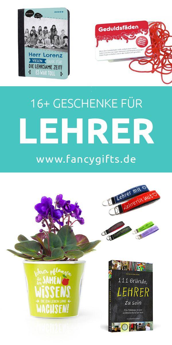 16 Geschenke für Lehrer | Pinterest