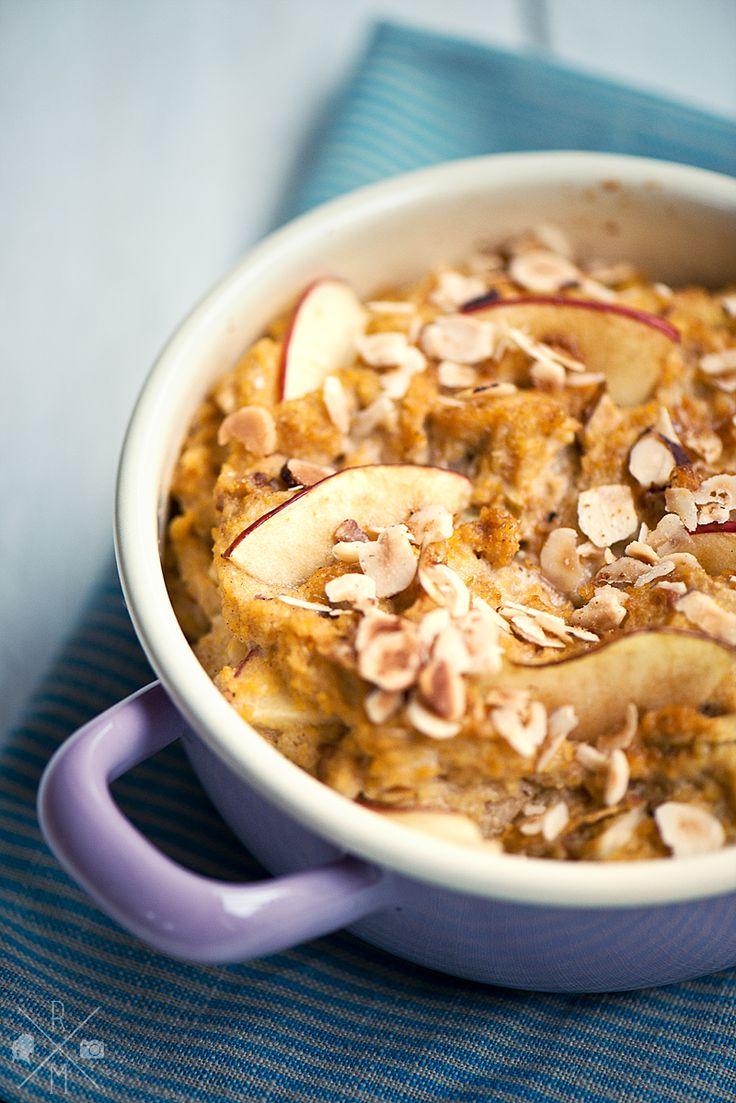 Polenta-Apfel-Auflauf :: vegan, gluten free & sugar free (Vegan Sweets Gluten Free)