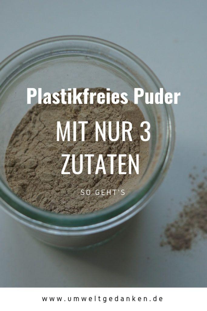 Plastic Free Powder DIY | environmental awareness