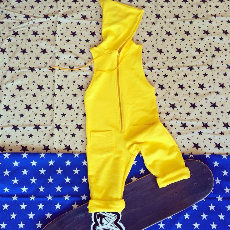 "Jump with jumpsuits! ""Tra le nuvole"" creazioni per bambini #jumpsuits #romper #overall"