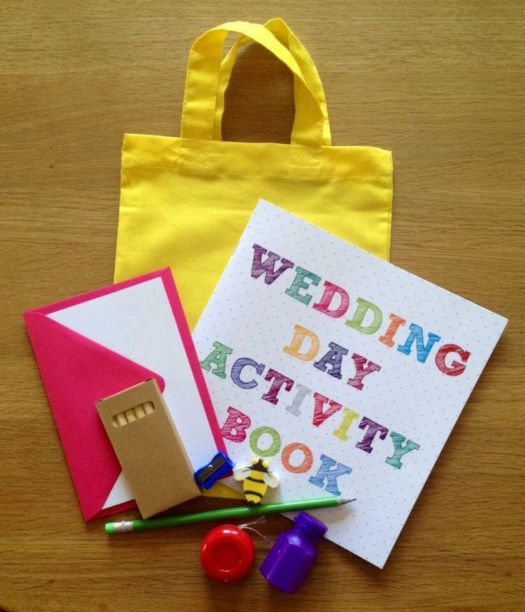 Children's wedding day activity bag