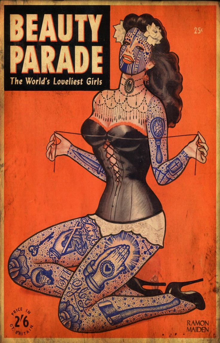 90 best the varrio lifestyle images on pinterest my life beauty parade by dr lakra ball point pen on old magazine cover biocorpaavc
