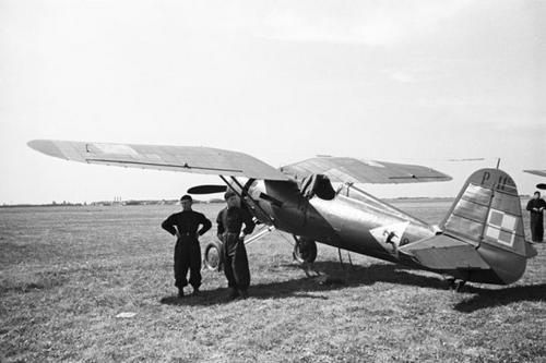 Summer 1939 This P-11 belonged to the First Aviation Regiment, 3rd Fighter Squadron.