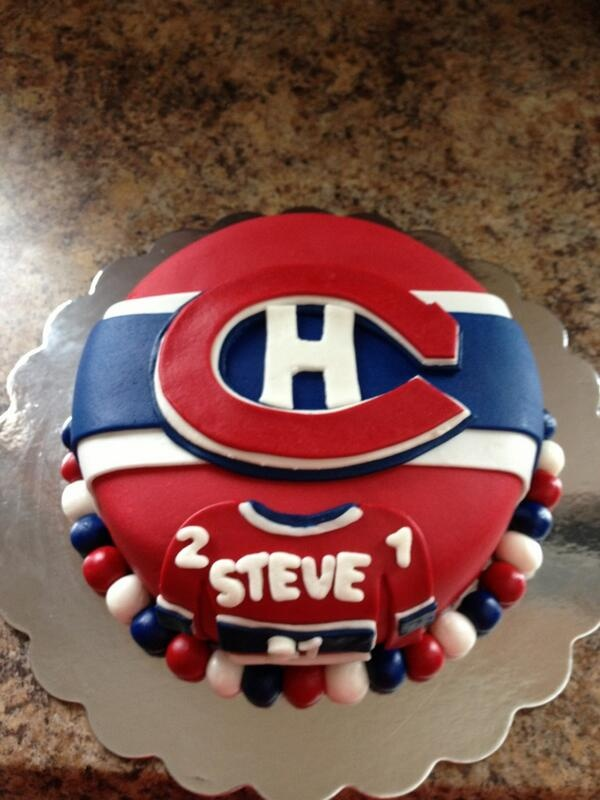 Habs  Birthday Cake