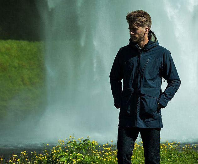 Aether Apparel Cascade Men's Rain Jacket
