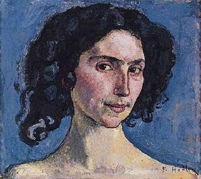 Ferdinand Hodler (1853-1918) Swiss Art Nouveau Painter