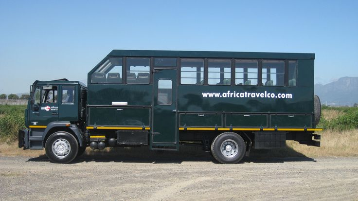 One of the many trucks used by ATC to operate their overlanding tours through Africa