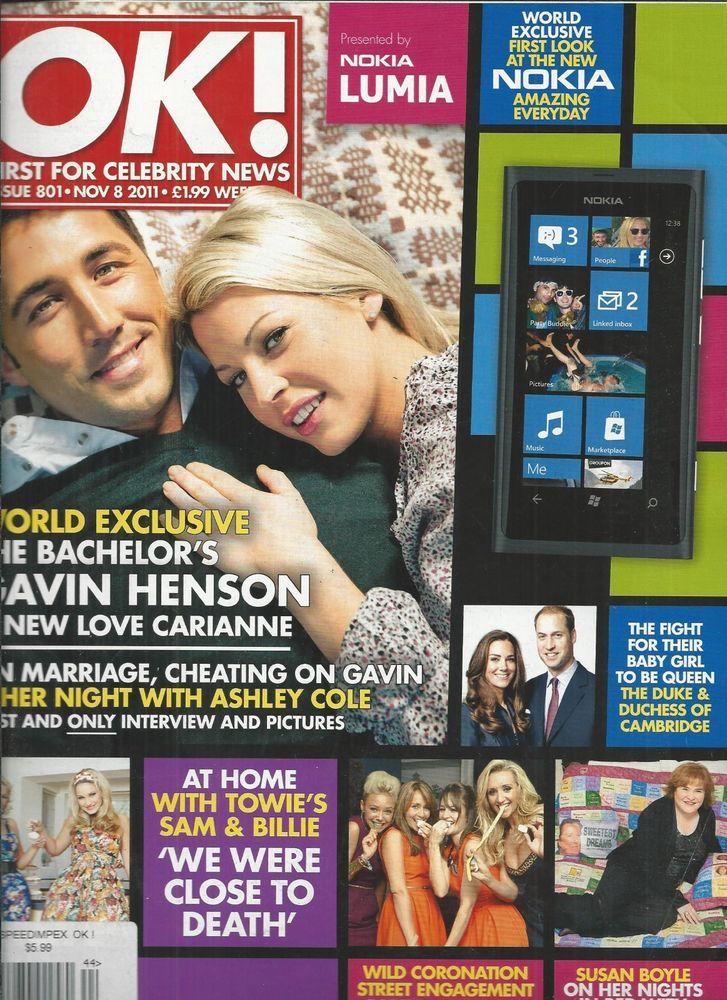 OK magazine Gavin Henson Susan Boyle Bradley Cooper Jennifer Lopez Holly Valance