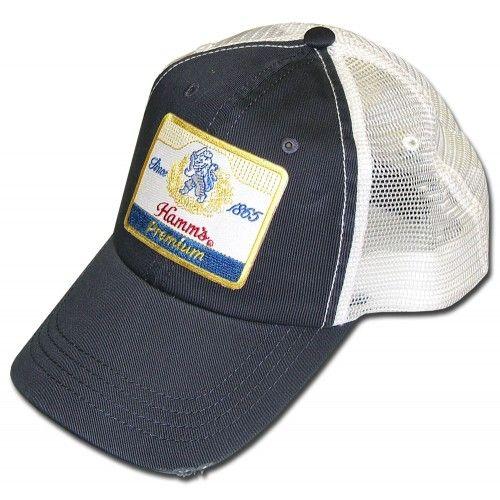 Hamm S Vintage Logo Trucker Hat Adjustable Fit Trucker