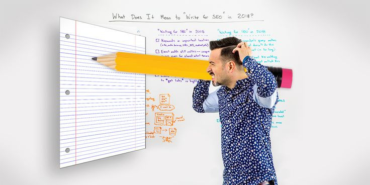 HOW TO WRITE FOR SEO IN 2018:  Writers regularly receive dangerously incorrect advice on how to write for SEO. To protect your site from Google penalties and ensure your writing is appropriate for modern SEO standards, Rand outlines outdated practices and a brief 5-step writing process for 2018.