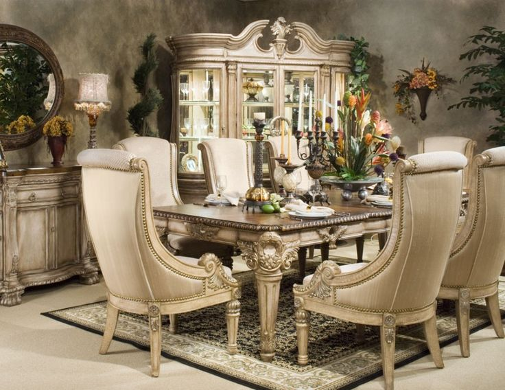Elegant Formal Dining Room Furniture With Modern Decoration Awesome Classic Round Framed Wall Mirror