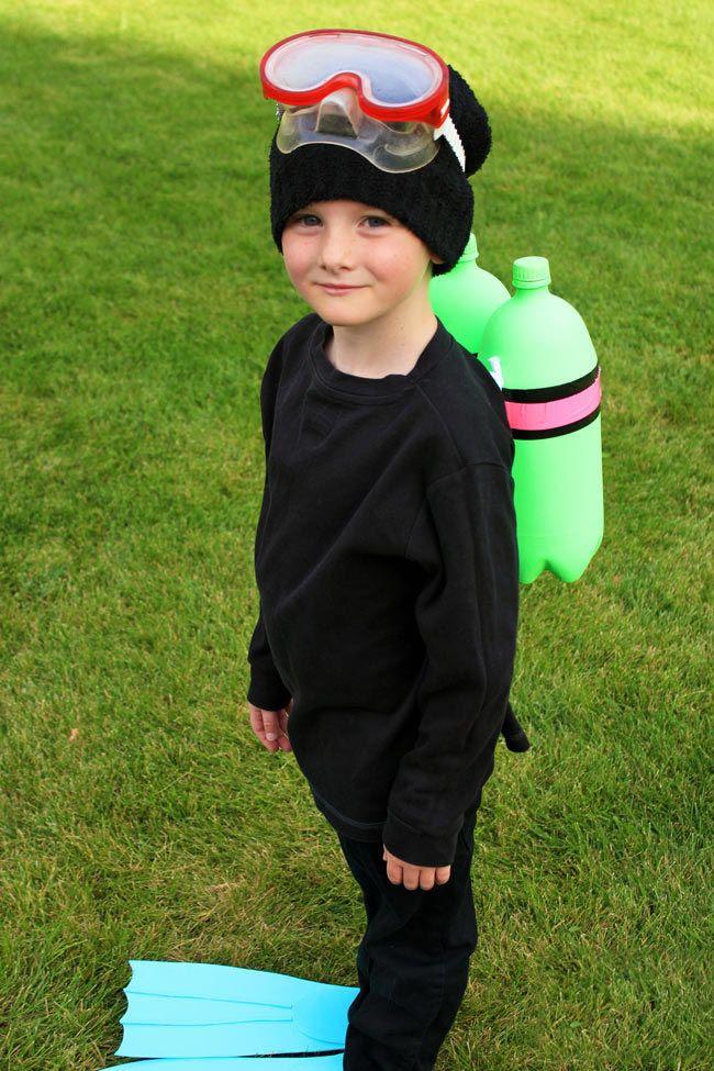 Future Scuba Diver - Colorful Gear for this Scuba Boy