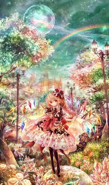 Flandre Scarlet into the woods