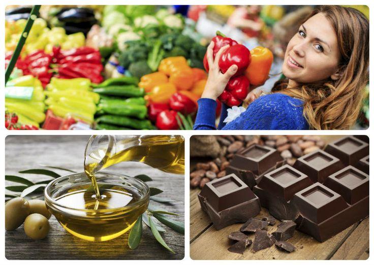 Las 'sirtfoods' incluyen todo tipo de verduras, pero también el chocolate o el aceite de oliva. (iStock)