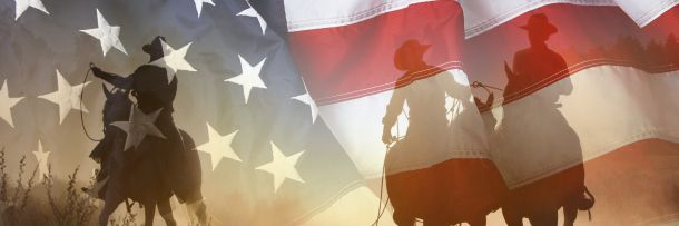 The Myth:  One reason Americans have always been so in love with the Old West is that it's so distinctly American. Today, if you find a political rally of people proclaiming themselves to be patriots, you can damn well bet you'll find cowboy hats in that crowd. The more of a cowboy you are, the more American you are.