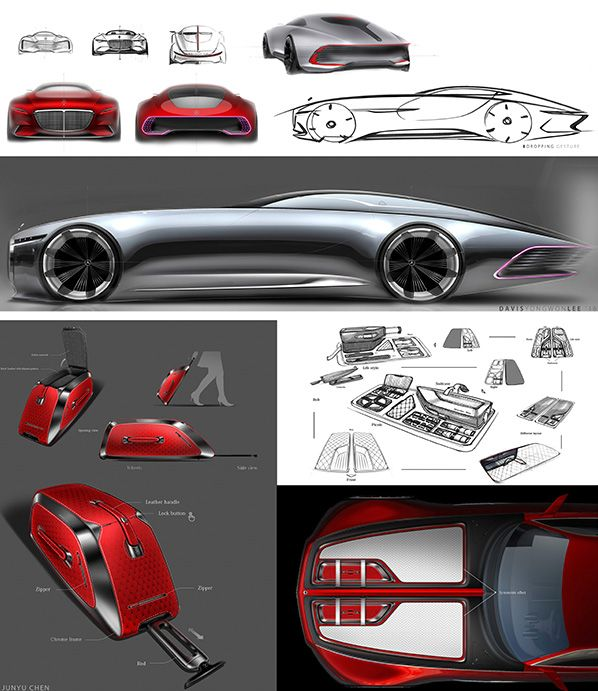 Study of an ultra-stylish luxury-class coupé: The Vision Mercedes-Maybach 6.