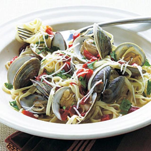 Linguini and Clams | Italian Recipes | Pinterest