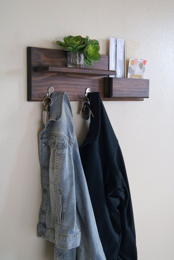 Mail Organizer Coat Rack Storage Entryway Storage Coat Rack Sunglasses