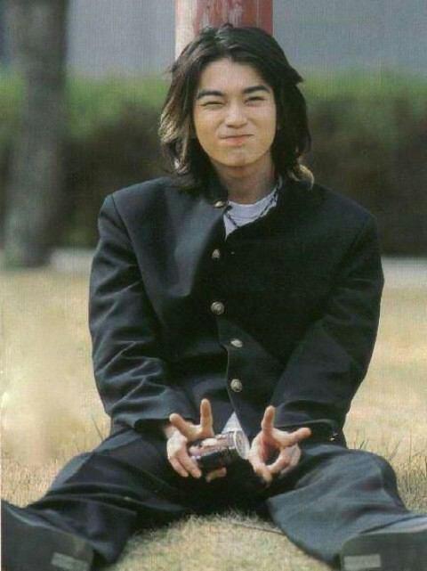 Jun Matsumoto as shin in gokusen season 1