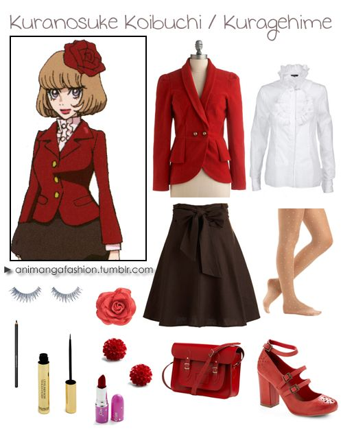 1000+ images about Anime Inspired Fashion on Pinterest | Ocarina of times Kingdom hearts and ...