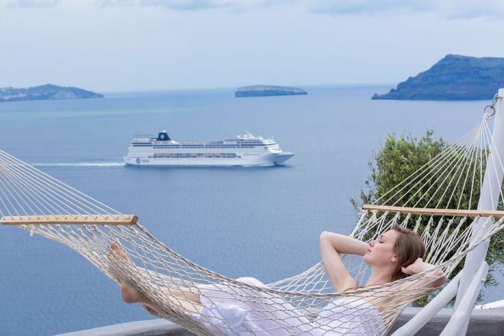 #Relaxation #Calmness #AndronisExclusive #VolcanicView #Santorini