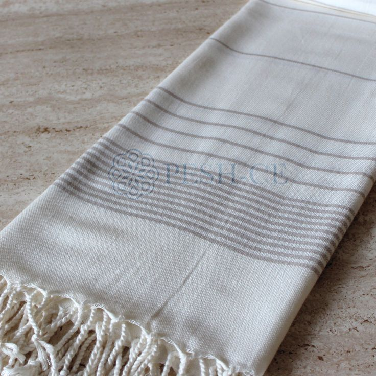 Sare Peshtemal is 100% Bamboo. Extra soft. Absorbs water and dries quickly. Light and space saving.Hand loomed in Turkey.
