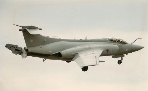 208 sqn buccaneer at raf alconbury