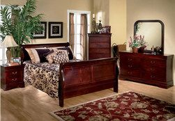 6-Pc. Louis Philippe Queen Bedroom from The Brick $799.95 >