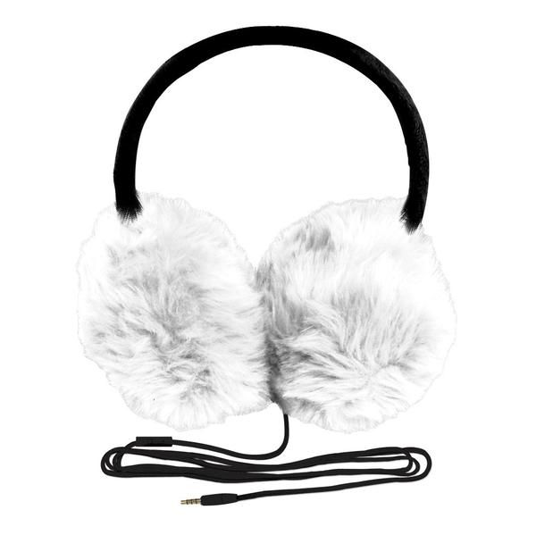 Fuzzy Fones Headphone Earmuffs are fun, funky and fashionable! Fully wrapped in faux fur, they provide quality sound and an uber-comfortable fit. Keep your ears warm while you're looking super cool li